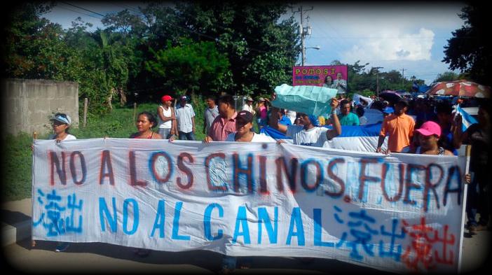 En Nicaragua campesinos se oponen a la construcción del canal interoceánico por capitales chinos